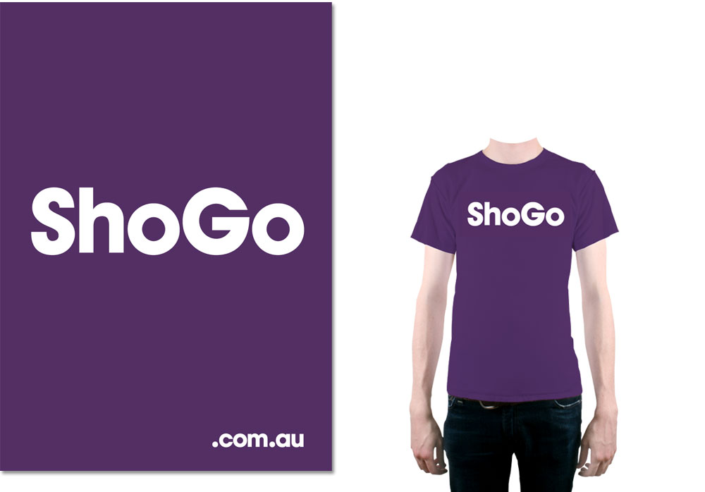 An image showing the ShoGo poster and the ShoGo shirt.
